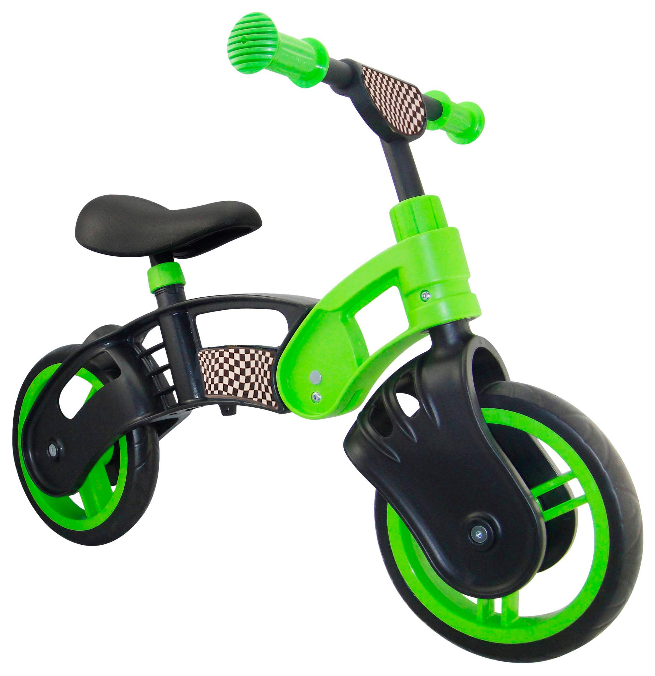 Для маленьких выбирают легкий детский велосипед с колесами 12″.